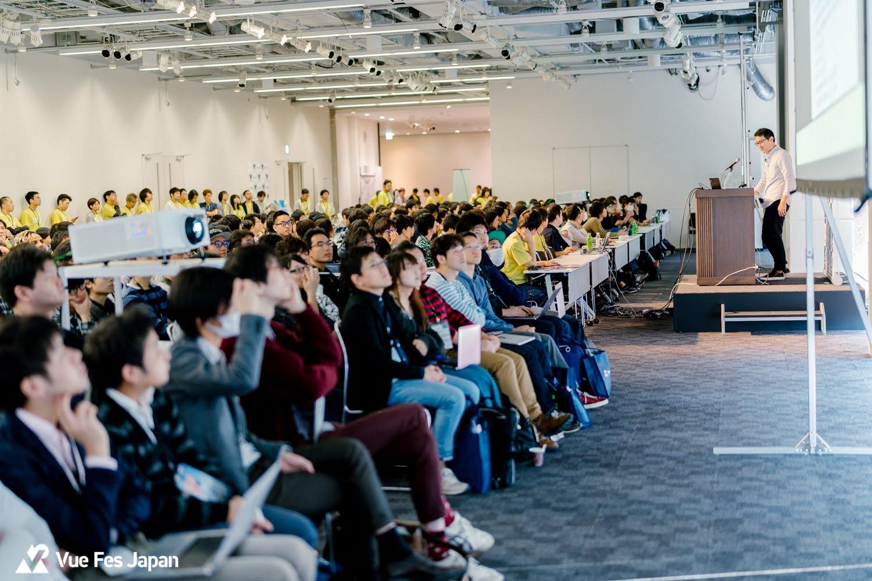 Vue Fes Japan 2018キーノートの様子